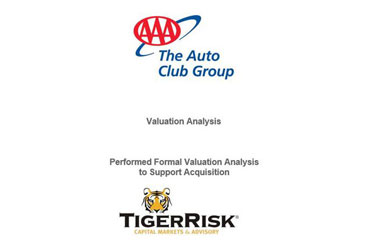 Financial Valuation Analysis for The Auto Club Group