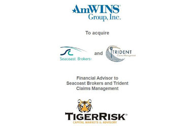 AmWINS Acquires Seacoast Brokers and Affiliated Entities