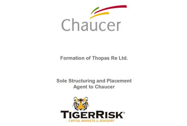 Chaucer Establishes Thopas Re Ltd. Special Purpose Vehicle