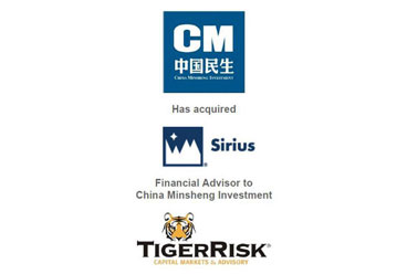 China Minsheng Investment Acquires Sirius for $2.592 billion