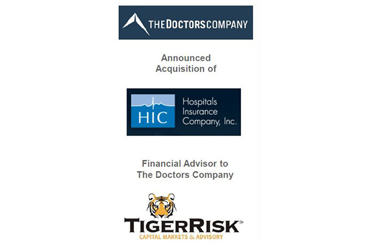 The Doctors Company to Acquire Hospitals Insurance Company