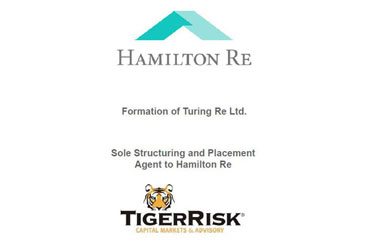 Hamilton Re Establishes Turing Re Ltd. Special Purpose Vehicle