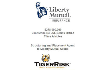 Liberty Mutual Sponsors $278 million Limestone 2018-1 Class A Notes