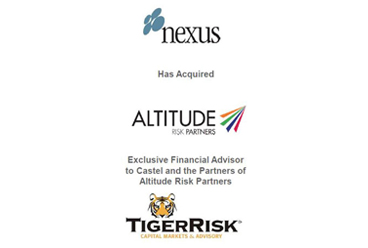 Nexus Announces the Acquisition of Altitude Risk Partners – Undisclosed