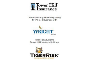 Tower Hill Insurance NFIP Agreement with Wright National Flood – Undisclosed