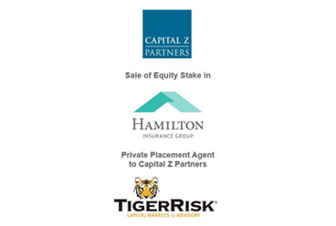 Capital Z Partners Sells Equity Stake in Hamilton Insurance Group