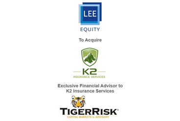 K2 Insurance Services Announces Sale to Lee Equity