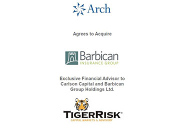 Arch Capital Group Ltd. to Acquire Barbican Group Holdings Ltd.