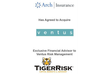 Arch North America Agrees to Acquire Ventus Risk Management