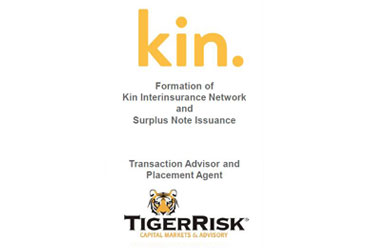 Kin Insurance Sponsors Formation of Kin Interinsurance Network