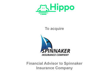 Hippo to Acquire Spinnaker Insurance Company