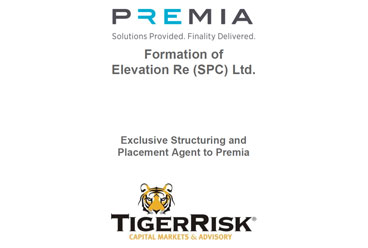 Premia Formation of Elevation Re (SPC) Ltd. Run-Off Sidecar