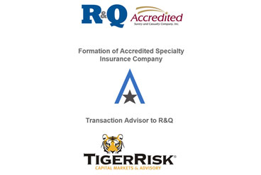 R&Q Formation of Accredited Specialty Insurance Company