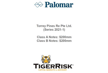 Palomar Specialty Issues Torrey Pines Re Pte Ltd. (Series 2021 1) Notes