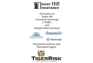 Tower Hill Sponsors the Formation of THIE Reciprocal Exchange